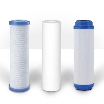 Pack 3 filtros ósmosis inversa básica