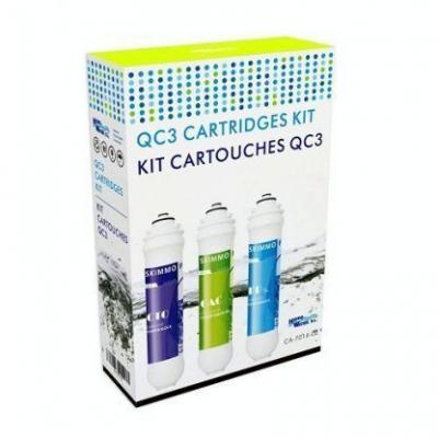 Pack de 3 filtros para ósmosis inversa QC3