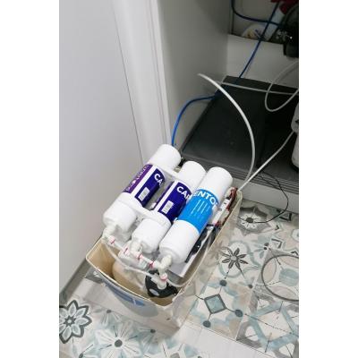 Cambio de Filtros y Mantenimiento Depurador de Agua